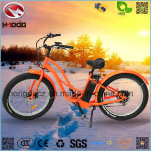 500W Fat Tire Ebike Electric Beach Bicycle with Lithium Battery pictures & photos