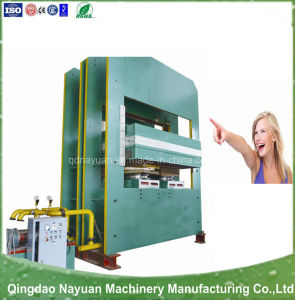Plate Vulcanizing Machine with New Technology