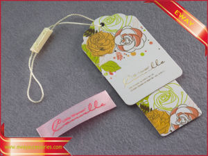 Fashion Garment Hang Tag Plastic Seal Tag pictures & photos