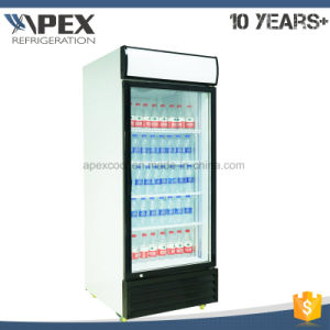 Single Door Upright Cooler Tropical Type Strong Cooling System pictures & photos
