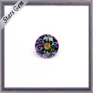 New Product Colorful Electroplate Cubic Zirconia pictures & photos
