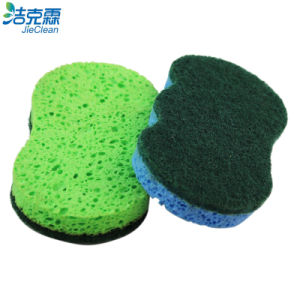 Cellulose Foam and Scrubber, Cleaning Sponge, Widely Use pictures & photos