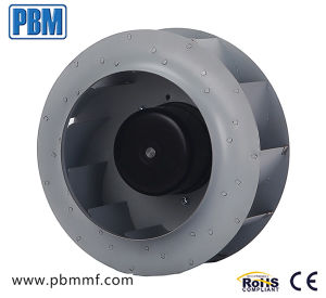 250mm Ec Centrifugal Fan with Inlet Ring