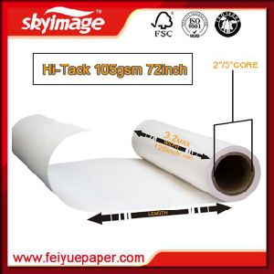 105GSM 1820mm*72inch Strong Sticky Sublimation Heat Transfer Paper for Sportswear pictures & photos