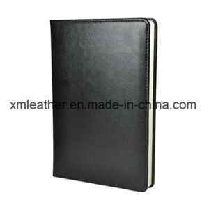 120 Sheet Custom Travelers Leather Notebook Diary with Embossed Logo pictures & photos