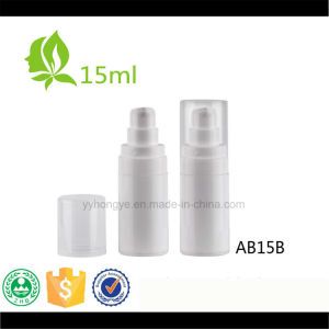 15ml Empty White Airless Pump Bottle Cosmetic Airless Bottles pictures & photos