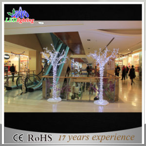 LED Large Artificial Outdoor Decoration Acrylice Stand Christmas Tree for Department Store pictures & photos