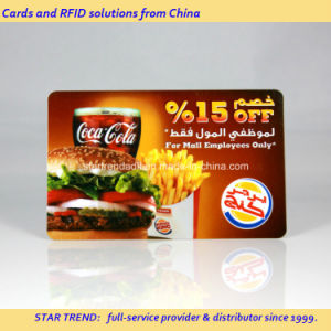 Full Colors PVC Magnetic Stripe Card for Discount Card pictures & photos