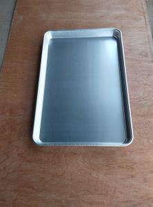 Teflon Coated/Perforated/Flat Aluminium Bakery Oven Tray pictures & photos