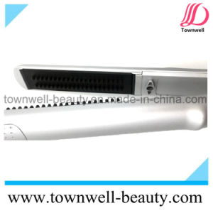 Titanium Electronic Hair Brush with Silve Soft Touch pictures & photos
