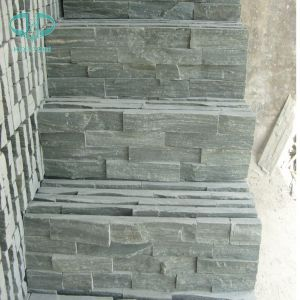 Natural Slate Yellow/Green/Grey/Rustic/Black Quartzite Slate for Paving/Floor/Wall Cladding pictures & photos