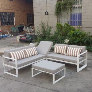 Sitting Room Hotel Furniture Wicker Outdoor Garden Chair Adjustable Rattan Sofa Set pictures & photos