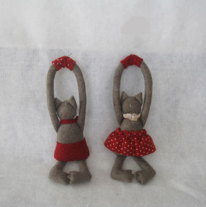 Cute Boy & Girl Fox Doorknob Home Decoration-2asst. pictures & photos