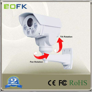 Full HD Ahd IR Bullet PTZ Security CCTV Camera with 4X Optical Zoom Lens