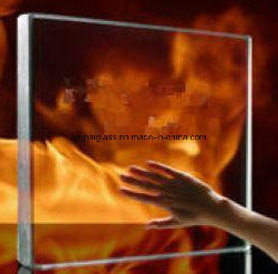 3.3mm 4mm Heat Resistant Fireplace Borosilicate Glass pictures & photos