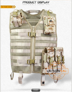 Tactical Mesh Vest with Magazine Pouches pictures & photos