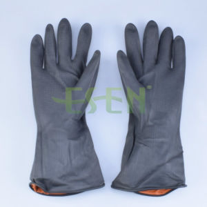 High Quality Natural Latex Household Gloves for House Cleaning/Household Rubber pictures & photos