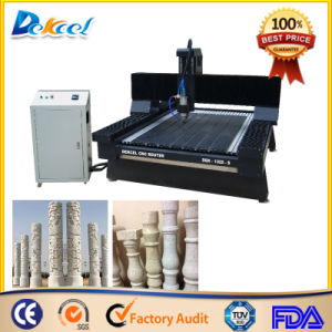 1325 Round Stone Engraver CNC Router Machine with Rotary pictures & photos