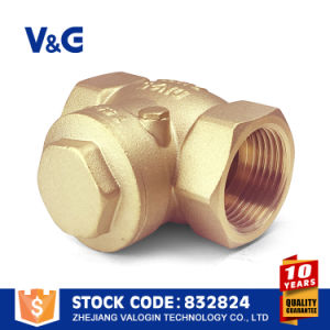 Thread Brass Swing Check Valves (VG12.04033) pictures & photos