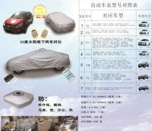 All New Car Accessory with APP and Solar Automatic Car Cover pictures & photos