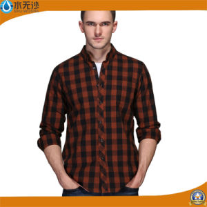 Wholesale 2017 Spring Casual Shirt Long Sleeve Slim Fit Shirts pictures & photos