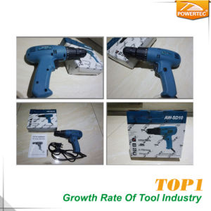 Powertec 220V 280W 10mm Electric Screwdriver pictures & photos