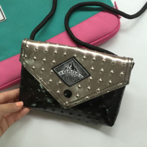 Fashion Easy Matched PU Mixed Color Women Handbag (M009-17) pictures & photos