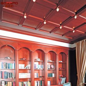 American Style Wood Ceiling Panel Tiles (GSP11-014) pictures & photos