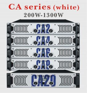 KTV Professional High Performance of Big Power Amplifier (CA series-white) pictures & photos