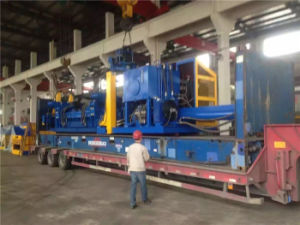 High Efficient Automatical Portable Mobile Baler Machine Steel Baling Press pictures & photos
