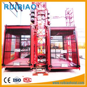 Factory Price Gjj Scd270/270g Double Cage Passenger Hoist pictures & photos