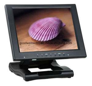HDMI VGA DVI YPbPr Input 10 Inch Touchscreen Monitor pictures & photos