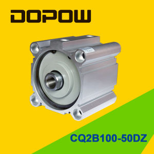 Dopow Series Cq2b100-50 Compact Cylinder Double Acting Basic Type pictures & photos