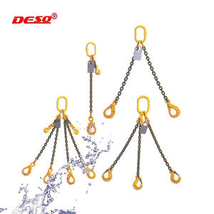 G80 Steel Chain Sling with Legs and Hooks pictures & photos