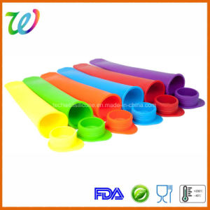FDA LFGB Approved Factory Novelty Food Grade Silicone Ice Pop Mold