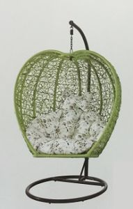 Leisurely Rattan 1-Seater Swing High Quality Garden Swing-2 pictures & photos