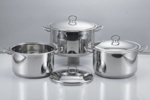 Stainless Steel Soup Pot with Lid pictures & photos