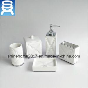 Chrome Plating and Porcelain Bathroom Set/Bathroom Accessories/Bathroom Accessory pictures & photos