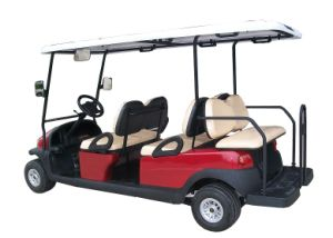 Cheap 6 Seat Electric Sightseeing Car/Cart for Tourist Resort pictures & photos