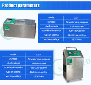Color Plate Steel of Wall Munting Type Ozone Generator pictures & photos