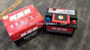 KSB car battery, Regional sales, Orders, or OEM are welcomed! pictures & photos