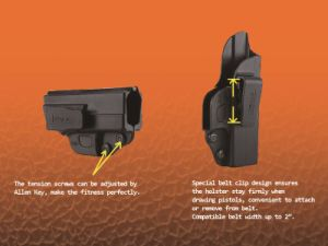 Cytac Inside The Waistband Concealed Carry Holster for Glock 19 23 32 pictures & photos