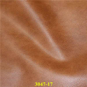 Environmental PU Imitation Leather for Bag, Shoes, Upholstery Materials pictures & photos