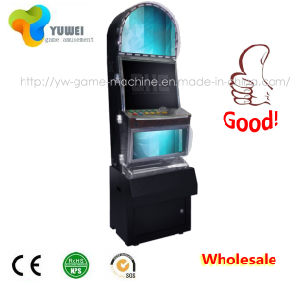 Indoor Amusement Gambling Table Electronic Game Machine with Coin Card Reader pictures & photos