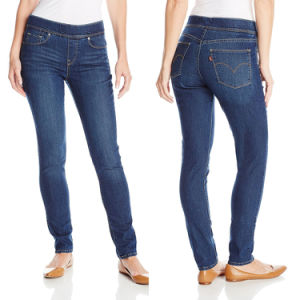 2017 Factory Fashion Ladies Skinny Jeans Denim Jean Pants pictures & photos