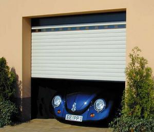 Industrial High Speed Sheet Fast Acting Sliding Sectional Door (Hz-FC0310) pictures & photos