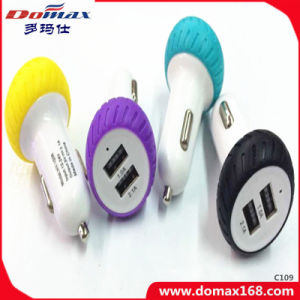 Mobile Cell Phone Adapter 2 USB Travel Car Charger Dual pictures & photos