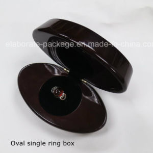 Exquisite Rosewood Luxury Piano Glossy Finish Wooden Wedding Ring Box pictures & photos