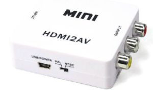 HDMI to AV Converter pictures & photos