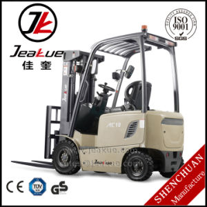 Wholesale 1t Four Wheels Electric Forklift pictures & photos